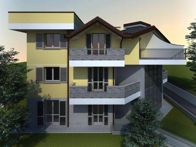 palazzina appartamento trilocale vendita cislago