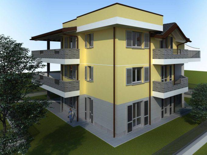condominio appartamento trilocale vendita cislago