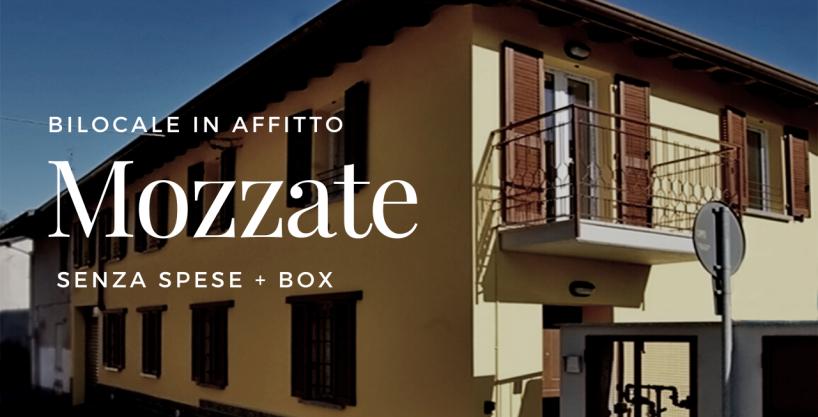 Bilocale in Affitto a Mozzate – San Martino