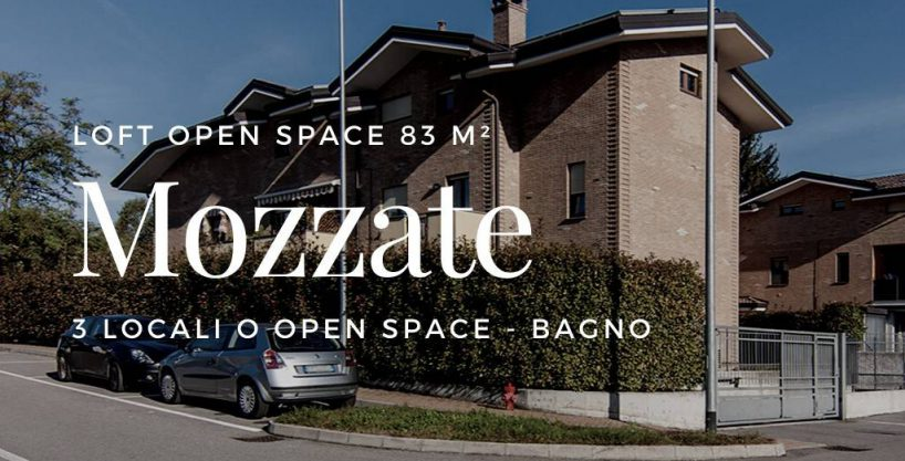 Case a Mozzate | 3 Locali Open Loft Mansarda
