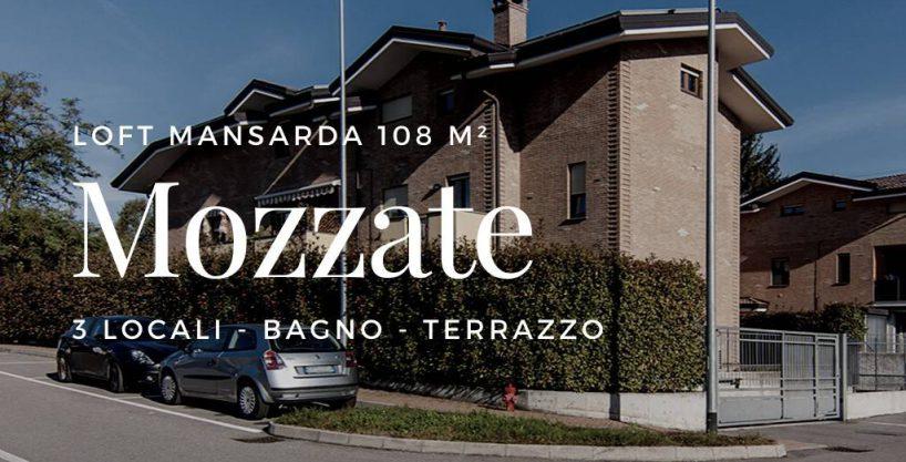 Case a Mozzate | 3 Locali Loft Mansarda