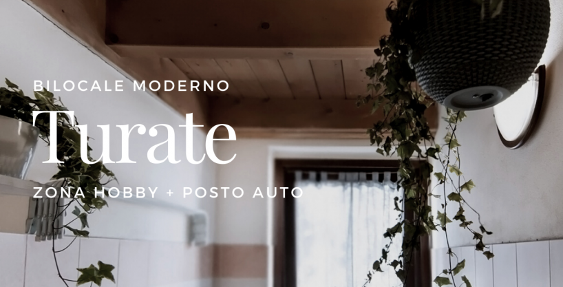 Case a Turate – Bilocale di Via Dante Alighieri
