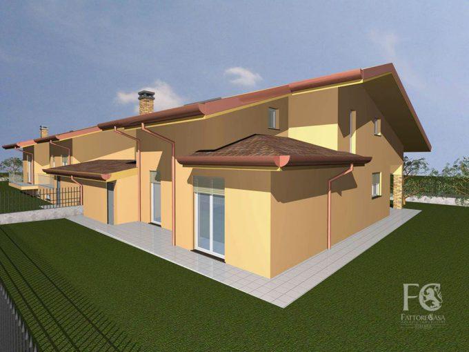 villetta villa indipendente nuova costruzione cislago